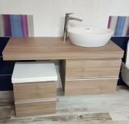 VÝPRODEJ Case - nábytek do koupelny - komplet