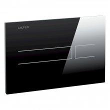 Splachovací tlačítko AW3, bezdotykové, černá sklo