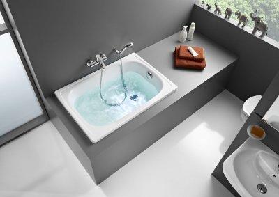 Contesa - ocelové vany