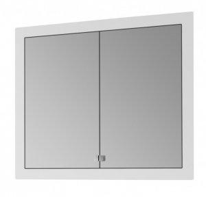 Grid GA2OE 90 - vestavná galerka s osvětlením a zásuvkou, CS I