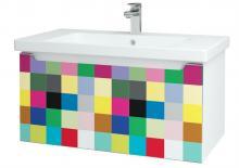 Color SZZ 100 - skříňka s umyvadlem 100 cm, závěsná, CS III