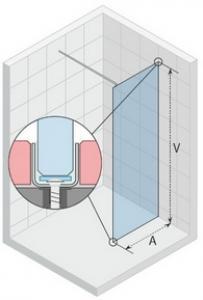 Scandic Flat pevné stěny