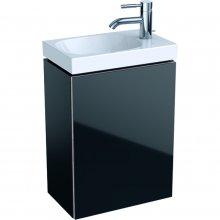 Acanto - spodní skříňka 39,5x24,5 pod umyvadlo, černá