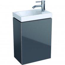 Acanto - spodní skříňka 39,5x24,5 pod umyvadlo, šedá