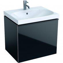 Acanto - spodní skříňka 59,5x47,5 pod umyvadlo, černá