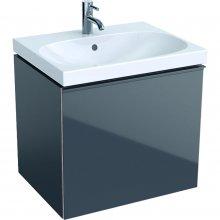 Acanto - spodní skříňka 59,5x47,5 pod umyvadlo, šedá