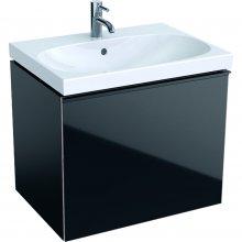 Acanto - spodní skříňka 64x47,5 pod umyvadlo, černá