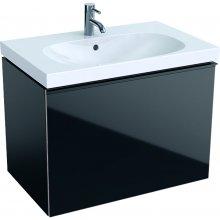 Acanto - spodní skříňka 74x47,5 pod umyvadlo, černá
