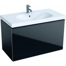 Acanto - spodní skříňka 89x47,5 pod umyvadlo, černá