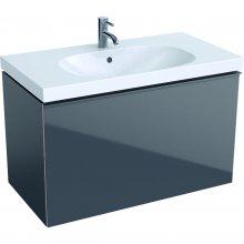 Acanto - spodní skříňka 89x47,5 pod umyvadlo, šedá