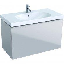 Acanto - spodní skříňka 89x47,5 pod umyvadlo, pískově šedá