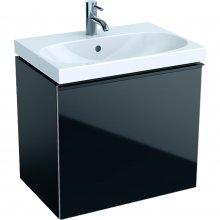 Acanto - spodní skříňka 59,5x41,6 pod umyvadlo, černá