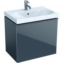 Acanto - spodní skříňka 59,5x41,6 pod umyvadlo, šedá
