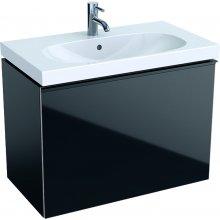 Acanto - spodní skříňka 74x41,6 pod umyvadlo, černá