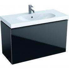 Acanto - spodní skříňka 89x41,6 pod umyvadlo, černá