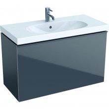 Acanto - spodní skříňka 89x41,6 pod umyvadlo, šedá