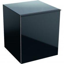Acanto - boční skříňka 45x52, černá