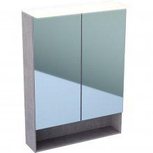 Acanto - zrcadlová skříňka s osvětlením 60x83