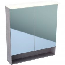 Acanto - zrcadlová skříňka s osvětlením 75x83