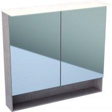 Acanto - zrcadlová skříňka s osvětlením 90x83