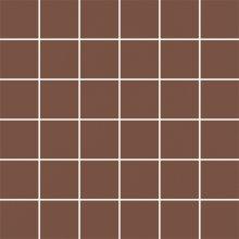 Modernizm brown mozaika cieta - dlaždice mozaika 29,8x29,8 hnědá