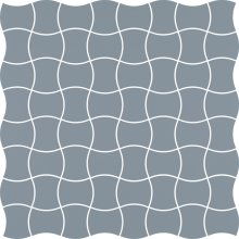 Modernizm blue mozaika prasowana - dlaždice mozaika 29,8x29,8 modrá