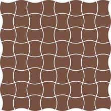 Modernizm brown mozaika prasowana - dlaždice mozaika 29,8x29,8 hnědá