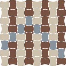 Modernizm bianco mozaika prasowana mix B - dlaždice mozaika 29,8x29,8