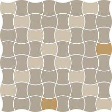 Modernizm bianco mozaika prasowana mix D - dlaždice mozaika 29,8x29,8