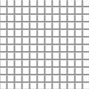 Albir bianco - dlaždice mozaika 30x30 (2,3x2,3) bílá mat