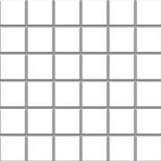 Altea bianco - dlaždice mozaika 30x30 (4,8x4,8) bílá lesk