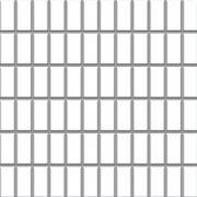 Albir bianco - dlaždice mozaika 30x30 (2,3x4,8) bílá mat