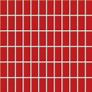 Altea rosa - obkládačka mozaika 30x30 (2,3x4,8) červená lesk