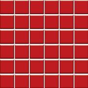 Altea rosa - obkládačka mozaika 30x30 (4,8x4,8) červená lesk