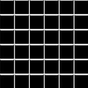Albir nero - obkládačka mozaika 30x30 (4,8x4,8) černá mat