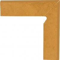 Aquarius beige cokol schodowy prawy - sokl schodový pravý 30x8,1 béžová
