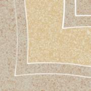 Arkesia beige narožnik B - dlažice bordura roh 9,8x9,8