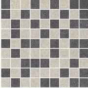 Arkesia grys/grafit mozaika mix poler - dlaždice mozaika 29,8x29,8