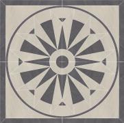 Arkesia grys rozeta - dlažice rozeta 89,6x89,6