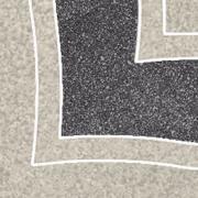 Arkesia grys narožnik B - dlažice bordura roh 9,8x9,8