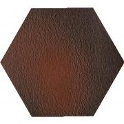 Cloud brown duro heksagon - dlaždice šestihran 26x26 hnědá strukturovaná