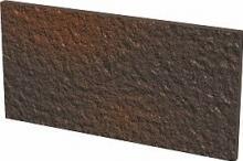 Cloud brown plytka podstopnicowa duro - dlaždice podschodnice 30x14,8 hnědá strukturovaná