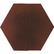 Cloud rosa duro heksagon - dlaždice šestihran 26x26 hnědá strukturovaná