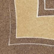 Arkesia mocca narožnik B - dlažice bordura roh 9,8x9,8