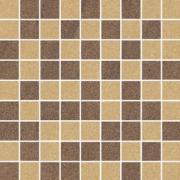 Arkesia mocca/brown mozaika mix poler - dlaždice mozaika 29,8x29,8