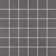 Doblo grafit mozaika cieta poler - dlaždice mozaika 29,8x29,8 šedá lesklá