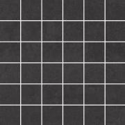 Doblo nero mozaika cieta poler - dlaždice mozaika 29,8x29,8 černá lesklá