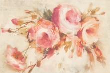Coraline panel róže - obkládačka inzerto set 60x90