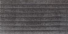 Bazalto grafit C plytka podstopnicowa strukturalna - dlaždice podschodnice 30x14,8 šedá