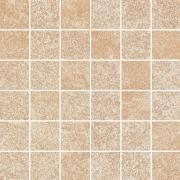 Flash beige mozaika cieta polpoler - dlaždice mozaika 29,8x29,8 béžová pololesklá